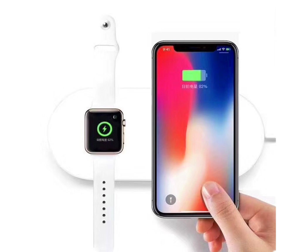 Wireless charger for iPhone and Apple watch