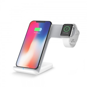 Stand wireless charger for iPhone and watch