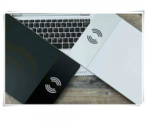 Aluminum alloy wireless charger mouse pad