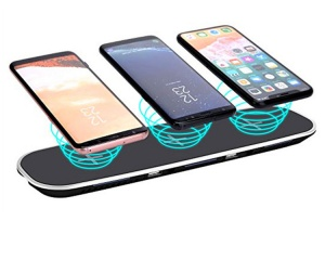 3 in 1 wireless charger with two USB port